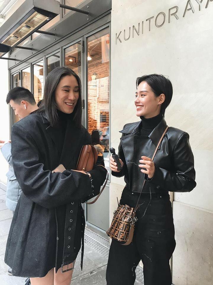 Là một influencer, Linh có cơ hội gặp gỡ nhiều người thành công đến từ mọi ngành nghề.