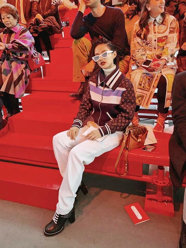 Khánh Linh tại Louis Vuitton Show 2019