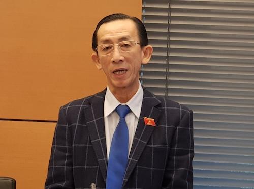 Ông Trần Hoàng Ngân - Giám đốc Học viên cán bộ TP HCM. Ảnh: Hoài Thu
