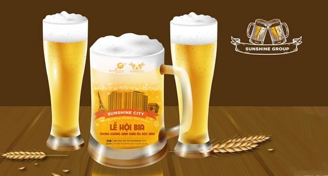 Amazing Journey Sunshine Beer Festival dự kiến sẽ diễn ra ngày 27/10 tại Sunshine City (Hà Nội).