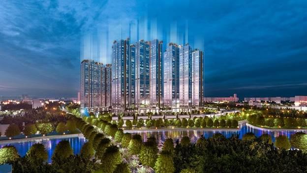 Phối cảnh Sunshine City Sài Gòn (quận 7, TP HCM).