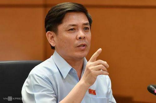 Ông Nguyễn Văn Thể - Bộ trưởng Giao thông Vận tải. Ảnh: Võ Hải