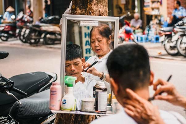 Một bức hình trong dự án Hà Nội - Điều còn lại của Tuấn Phong.