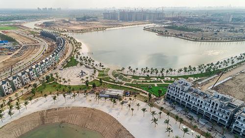 Một siêu dự án đang được phát triển ở Hà Nội. Ảnh: Ngọc Sơn
