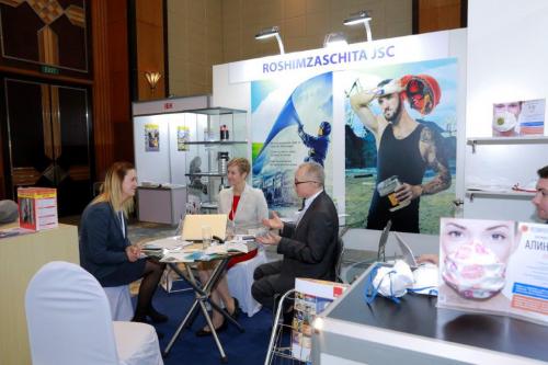 Một gian hàng tại Expo - Russia Vietnam 2017.