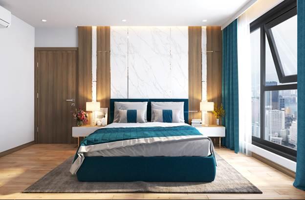 Căn hộ 3 phòng ngủ của dự án Le Grand Jardin