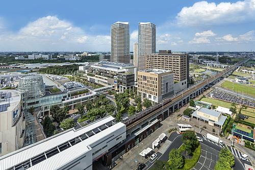 Một góc thành phố thông minh Kashiwa-no-ha. Ảnh: Kashiwa-no-ha