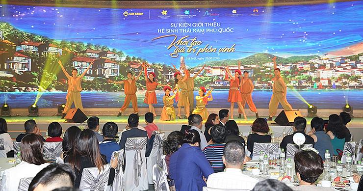 Toàn cảnh sự kiện giới thiệu bất động sản Nam Phú Quốc.