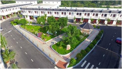 Một góc dự án Champaca Garden