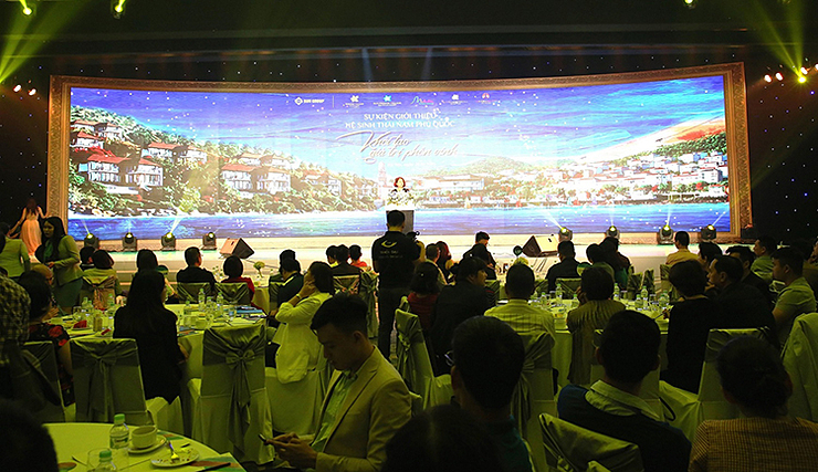 Bức tranh về hệ sinh thái Nam Phú Quốc được giới thiệu đến các nhà đầu tư