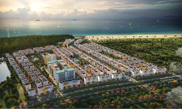 Phối cảnh tổng thể dự án Sun Grand City New An Thoi.