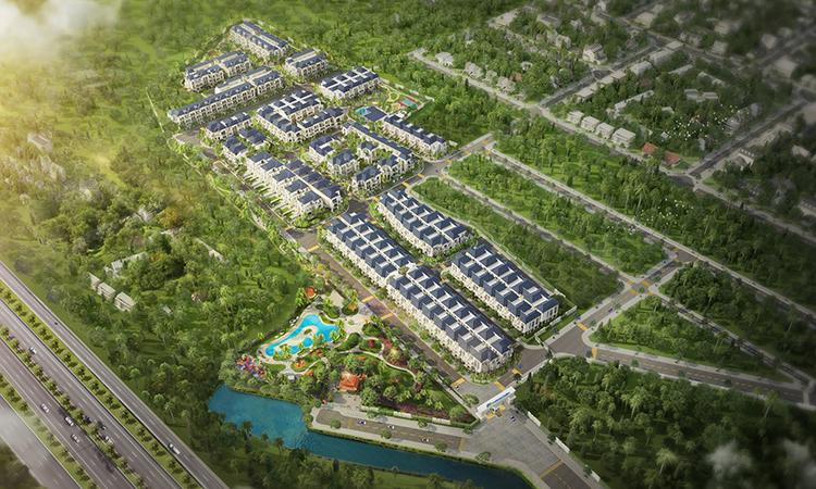 Phối cảnh tổng thể dự án Verosa Park.