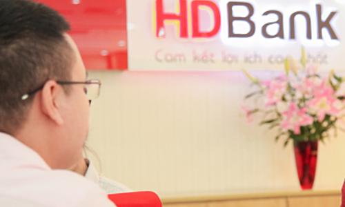 HDBank lãi hơn 3.400 tỷ đồng