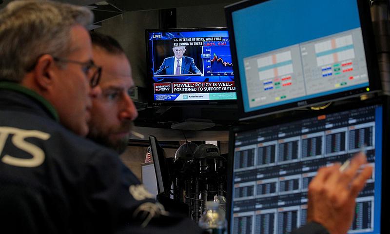Chứng khoán Mỹ lập kỷ lục mới nhờ Fed