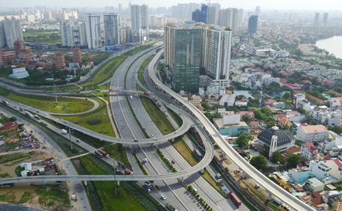 Thị trường bất động sản phía Đông TP HCM. Ảnh: Trần Quỳnh