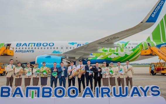 Bamboo Airways đón máy bay Airbus A320neo đầu tiên