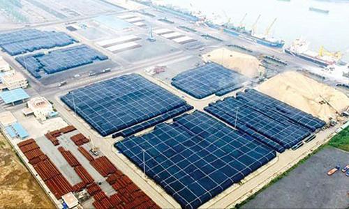Khu vực để nhôm nguyên liệu của Công ty Nhôm Toàn Cầu. Ảnh: WSJ