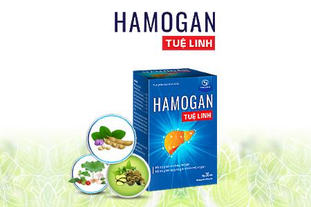 Hamogan Tuệ Linh - Sản phẩm hỗ trợngười gan nhiễm mỡ, giúp hạ mỡ gan.