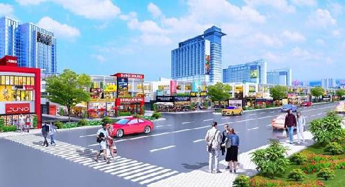 Chủ đầu tư Nam An New City trao sổ đỏ cho khách khi ký kết hợp đồng.