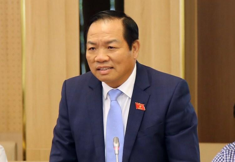 Ông Lê Hồng Tịnh - Phó chủ nhiệm Uỷ ban Khoa học, công nghệ và môi trường. Ảnh: H.T