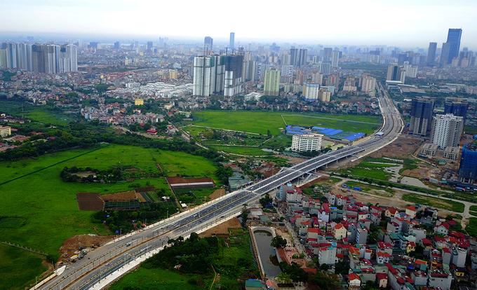 tuyến đường từ phố Lê Đức Thọ đến Khu đô thị mới Xuân Phương (điểm cuối giao đường 70) theo hình thức hợp đồng Xây dựng – chuyển giao (BT)
