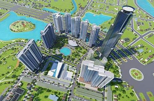 Tòa căn hộ HR3 với vị trí đắc địa giữa lòng 2 công viên Hương Tràm và Eco Green Central Park