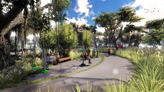 Eco Green Saigon sắp ra mắt tòa căn hộ giữa lòng công viên - 2