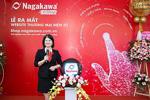 bà Nguyễn Thị Huyền Thương Phó Tổng Giám đốc - Công ty CP Tập đoàn Nagakawa