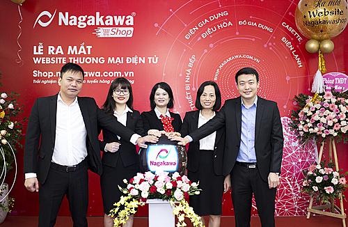 Tập đoàn Nagakawa hy vọng website sẽ mang đến trải nghiệm mua sắm thuận tiệncho người tiêu dùng.