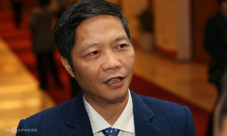 Bộ trưởng Công Thương Trần Tuấn Anh. Ảnh: Giang Huy