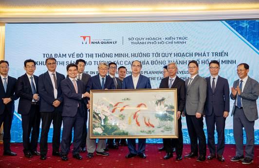 Đoàn chuyên gia Hàn Quốc trao đổi kinh nghiệm với lãnh đạo TP HCM