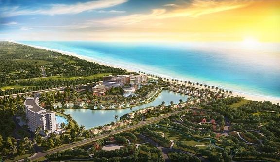 Toàn cảnh dự án Mövenpick Resort Waverly Phú Quốc.