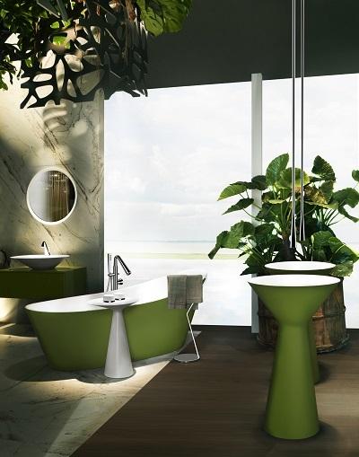 Bộ sưu tập phòng tắm Gessi Cono.