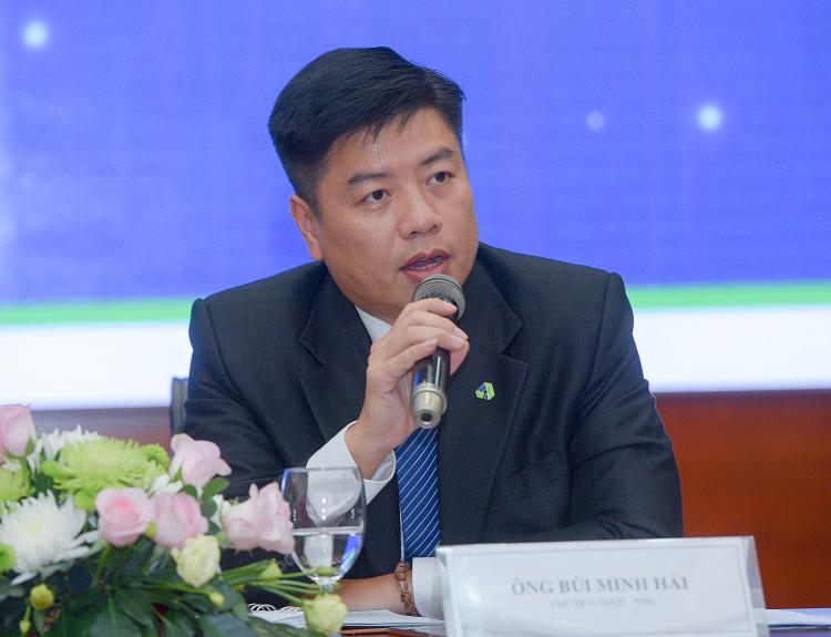 Ông Bùi Minh Hải - Chủ tịch HĐQT Công ty CP Nhựa Hà Nội.