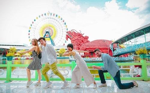 Suối Tiên nổi tiếng với những công trình vui chơi – giải trí hấp dẫn