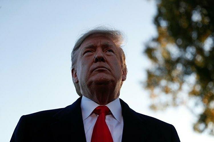 Tổng thống Donald Trump tại Nhà Trắng. Ảnh: Reuters
