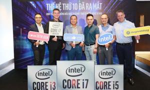 Thế Giới Di Động cùng Intel khuấy động thị trường laptop với Core i thế hệ 10