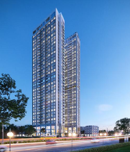 Phối cảnh tòa căn hộ Imperium Tower Nha Trang