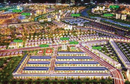 Phối cảnh tổng thể dự án The Eden City.