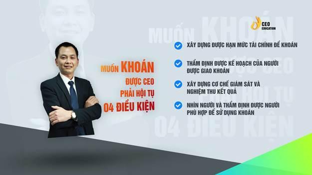 Khóa học do Học viện CEO Việt Nam thiết kế.