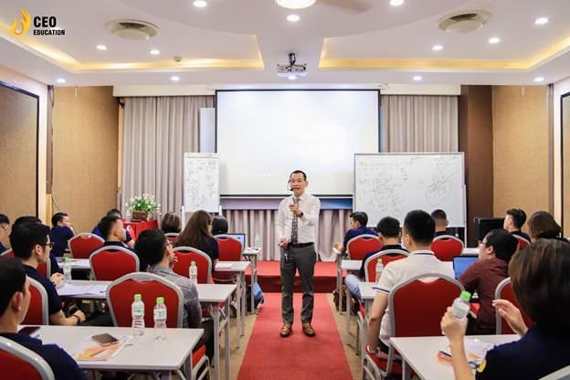 Ông Ngô Minh Tuấn - Chủ tịch hội đồng quản trị của Tập đoàn CEO Việt Nam.