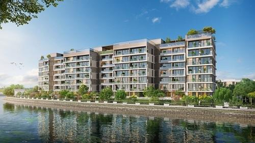 Chủ đầu tư giới hạn số lượng căn hộ nhằm đảo bảo không gian sống tiện nghi cho cư dân.