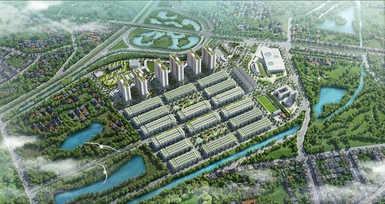 Phối cảnh khu đô thị Him Lam Green Park.
