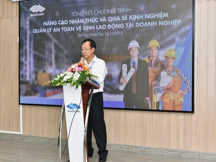 Ông Trần Hữu Thông, Phó trưởng ban Ban quản lý khu công nghiệp tỉnh Bà Rịa - Vũng Tàu đánh giá cao tính thiết thực của chương trình, đặc biệt là trên địa bàn tập trung nhiều doanh nghiệp hoạt động trong các ngành tiềm ẩn rủi ro lao động như Bà Rịa – Vũng Tàu.