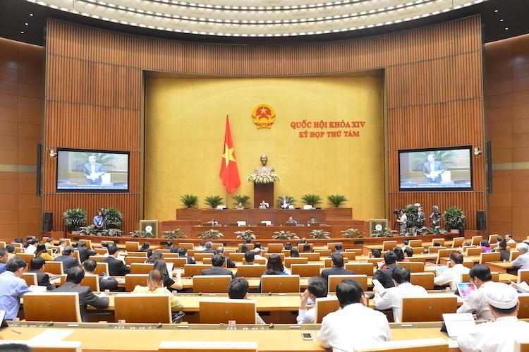 Kỳ họp 8, Quốc hội khoá 14. Ảnh: Hoàng Phong