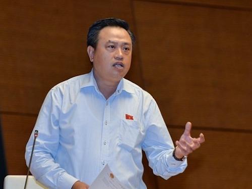 Ông Trần Sỹ Thanh - Chủ tịch PVN. Ảnh: Trung tâm báo chí Quốc hội