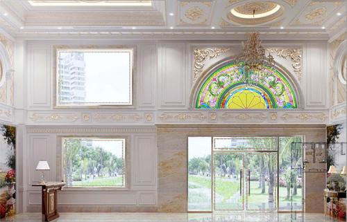 Nội thất cao cấp và không gian thoáng là ưu điểm của dự án.
