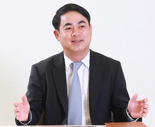 Chủ tịch Vietcombank, ông Nghiêm Xuân Thành: Ảnh: VGP/Huy Thắng.