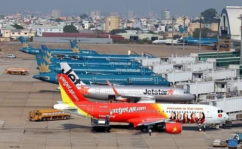 Máy bay của các hãng hàng không Việt Nam.