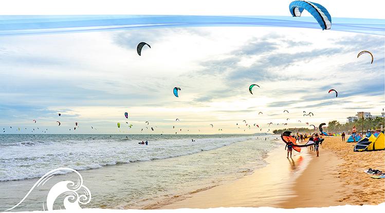 Du lịch thể thao biển là xu hướng dẫn đầu du lịch toàn cầu.